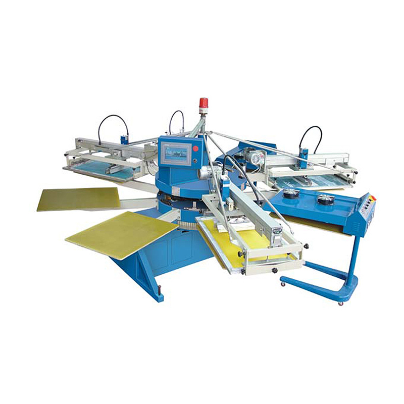 Direct Factory Manual 8-14 Color T-Shirt Silk Screen Printing Machinery