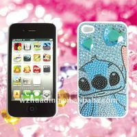 Bling rhinestone acrylic sticker for phone