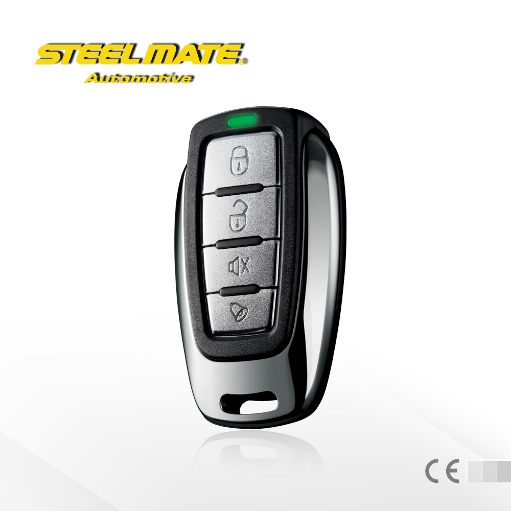 steelmate 838G NEW one way water resistant transmitter code hopping remote car alarm, car alarm system,smart car alarm system