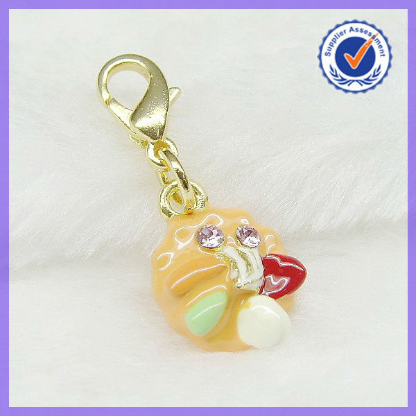 Sweet Food Pendant with Lobster Clasp #16075