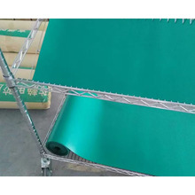 Coil flooring rubber cutting silicone conductive silicon anti-slip pvc ESD antistatic cleanroom green rubber table mat