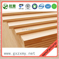 Paulownia and pine core 12mm E0 glue construction blockboard