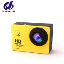 mini action camera with waterproof case for gift use factory supply