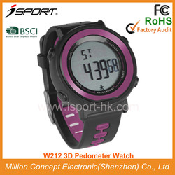 Top Selling Waterproof Pedometer Watch Calories Counter School Sports Equipment