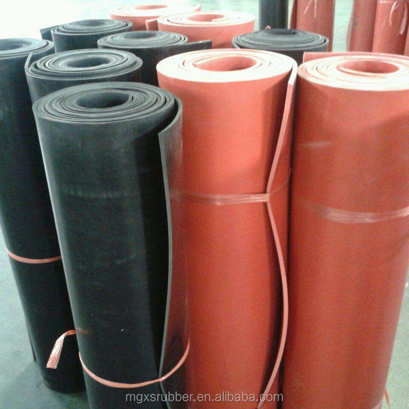 Insulating rubber sheet