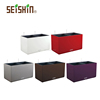 White/Red/Purple/Coffee/Silver Rectangular Plastic Self Watering Planters