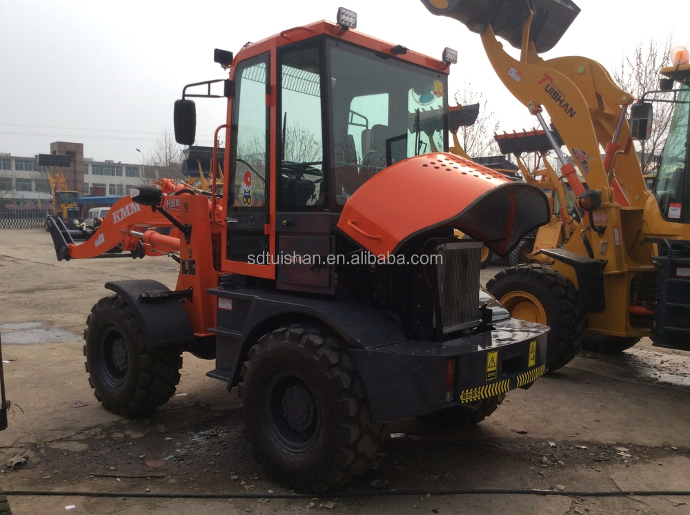 ZLY916A 1.2ton mini compact wheel loader, mini front leveler wheel loader,mini garden tractor loader for sale