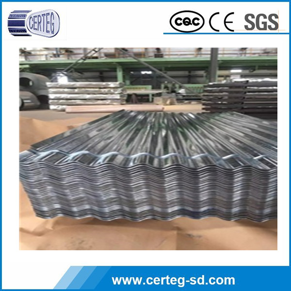 Aluminum zinc coated corrugated steel roofing sheet for construction and building material