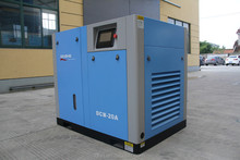 AC Power Bebas Minyak Screw Air Compressor
