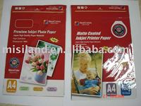 210gsm high glossy inkjet photo Paper Cast Coated waterproof & fast-drying