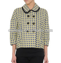 Latest tweed coat designs style for women
