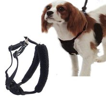 Large Middle Black Dog Body Harness