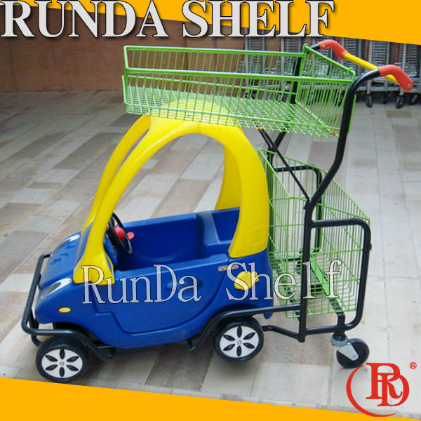australia style wicker on wheels plastic shopping trolley cart for sale
