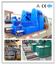 Easy combustion and long burn time coal/charcoal briquette making machine