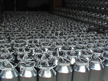 Milk Transportation Cans/customized mini milk can/easy transport aluminium milk cans