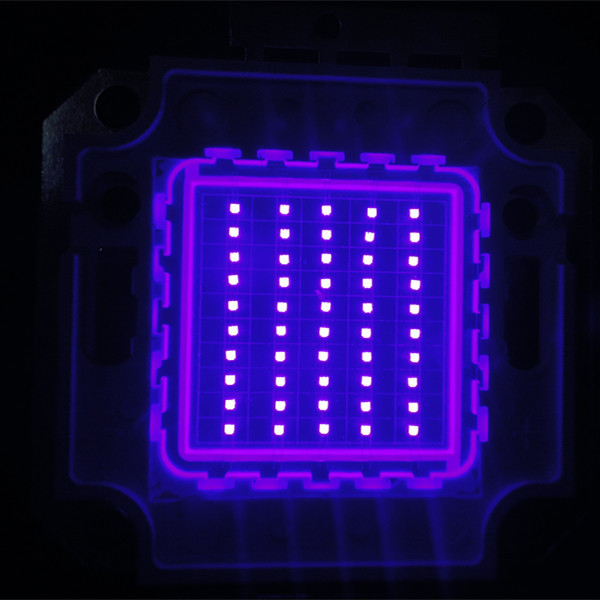 Factory Price Epileds Chip 50w High Power Purple Light UV LED COB