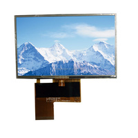 4.3 inch digital screen with high brightness 1300 nits with resistive touch panel