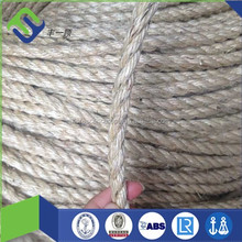 Lowest Price and High Quality 3 Strand Mooring Sisal 3 strand rope