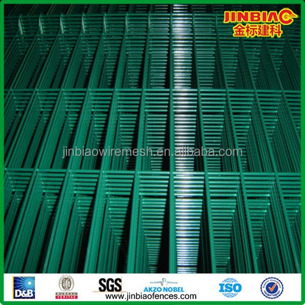 PVC Coated and Galvanized Wire Mesh Fence Panel