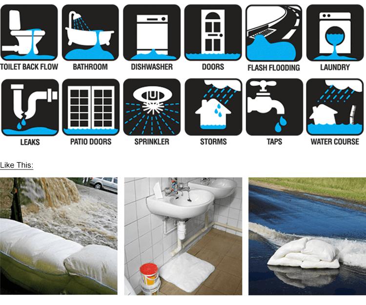 SAP water absorbent Inflatable control flood bag (Sandless flood sandbag) -2.png