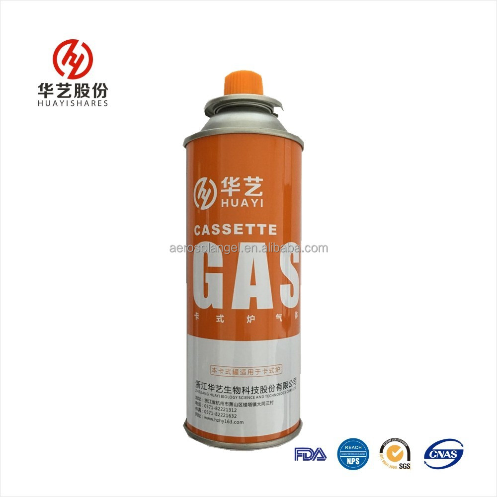 Butane gas cartridge 220g