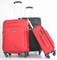 soft luggage with 900D cross grain/upright with 4 light weight wheels / trolley case with TSA combination lock/carry on