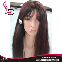 Panio color thick human hair wig wet and wavy cheap lace front wig lace front wigs lace ear to ear