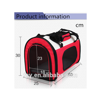 China supplier high quality folding pet handbag carrier