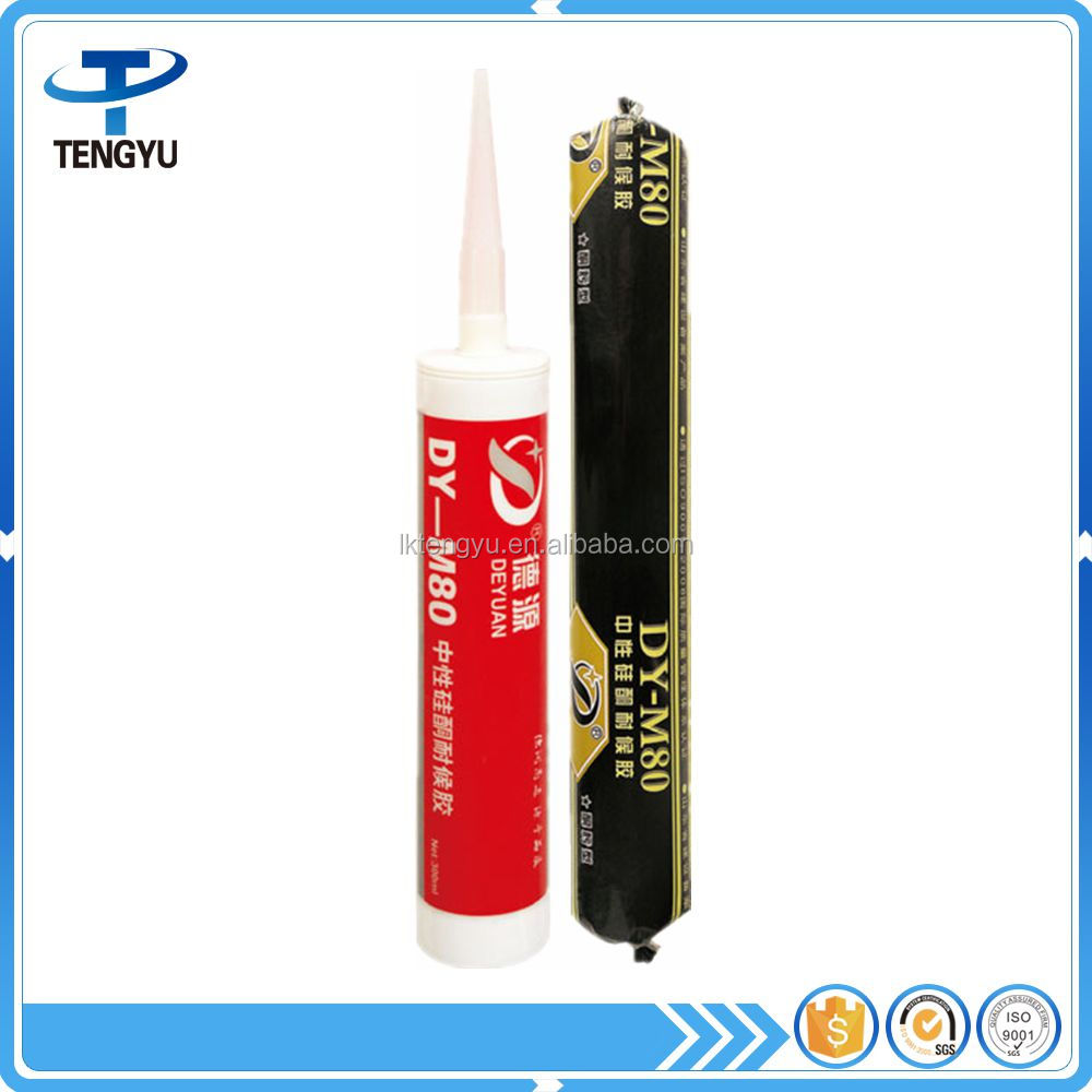 weather resistant silicone adhesive