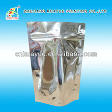 Customized New Customized Stand up Aluminium Foil Pouch with Zipper