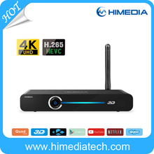 Hot!!! Huawei Hisilicon Android 4.4 Quad Core Full HD WIFI TV Smart Box with remote control