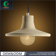 Factory low price new Design hanging Ceiling Lighting industrial Vintage Cement Restaurant Pendant lighting