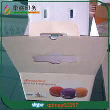 Top quality fancy printed corrugated paper box
