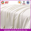 Wholesale cheap hotel use white Satin Stripe Fabric / cotton bedding cloth supplier hot selling 100% cotton satin stripe fabric
