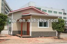 prefab light steel structure house/villa with high quality