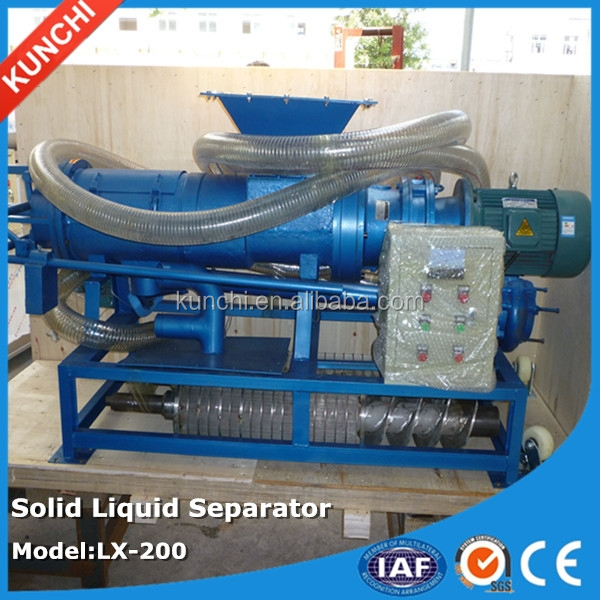 Popular exported kitchen dregs separating machine / solid liquid separator with better cost perfromance