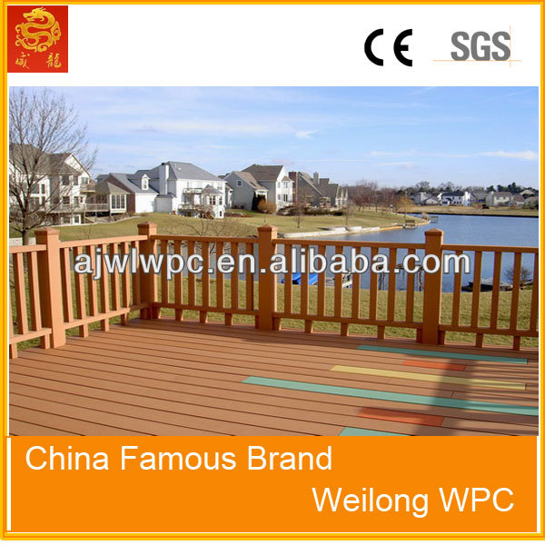 outdoor landscape composite timber