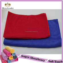 Non Scratch Terry Microfiber Warp Knitted Cloth for Kitchen