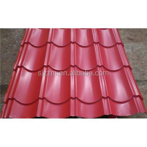 Stainless Steel Plate Color Coated Galvanized Corrugated Steel Roofing Sheet