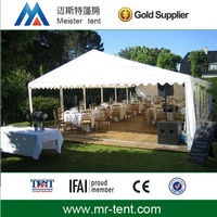 Luxury wedding party tent 6x12 with decorations