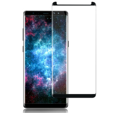 Custom Made 9H Nano Anti Shock Uv Blue Light Color Privacy Tempered Glass Screen Protector for Samsung Galaxy Note 8 Note8