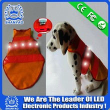 Hot Selling USB Rechargeable LED Pet Coat For Safety