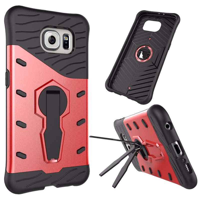 bumper case for galaxy s6 , PC+TPU phone case Mobile phone shell