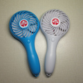 Hot selling custom summer plastic mini advertisement electric hand fan
