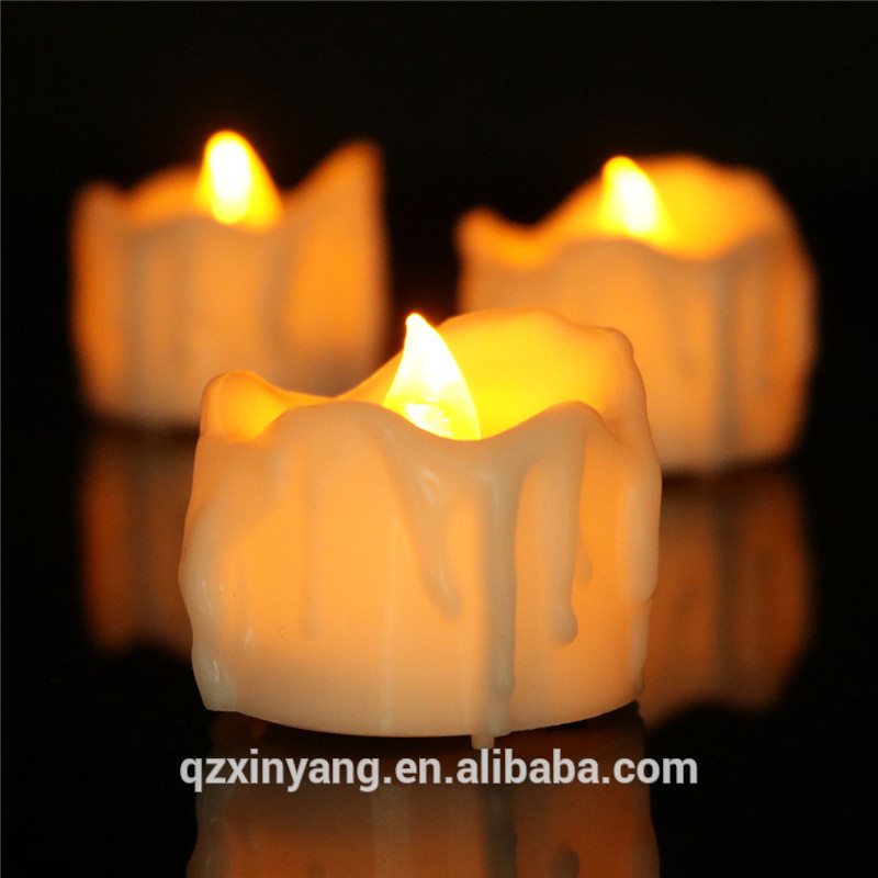 Christmas Tree Clip Simulation Candle Taper Led Flicker Candle Lamp