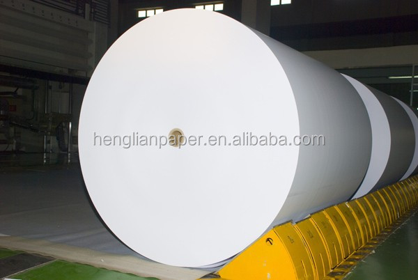 High Quality 80G Roll White Offset Paper