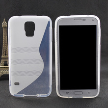 New Fashion Translucent TPU Soft Phone Case For Samsung Galaxy S5