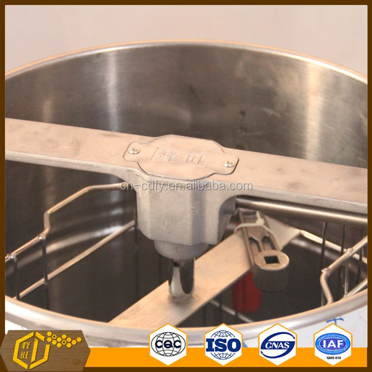 Beekeeping honey processing machine manual 2 frames honey extractor