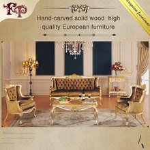 European style living room furniture classic Italian antique sofa set furniture
