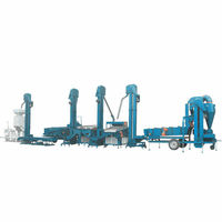 seeds grain cleaning machine processing plant